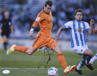 Gareth Bale Signed 11x14 Photo (JSA COA)