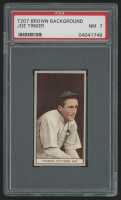 1912 T207 Brown Background #183 Joe Tinker (PSA 7)