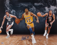 Magic Johnson Signed 16x20 Photo (Beckett COA) at PristineAuction.com