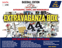 """Baseball Extravaganza Box""! Auto's, Cards & Memorabilia - 40+ Items Per Box!"