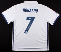 Cristiano Ronaldo Signed Madrid Soccer Jersey (PSA COA)