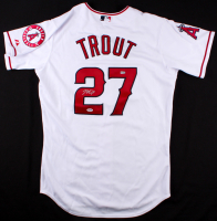 Mike Trout Signed Angels Jersey (PSA COA & MLB Hologram)