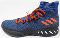 Kristaps Porzingis Signed Adidas Basketball Shoe (Steiner Hologram) at PristineAuction.com
