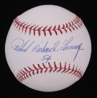 Richard Michael Gossage Signed OML Baseball (PSA COA)