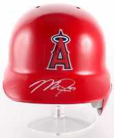 Mike Trout Signed Angels Full-Size Batting Helmet (MLB Hologram)