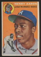 1954 Topps #128 Hank Aaron RC