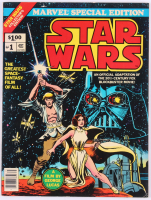 """1977 """"Star Wars"""" Issue #1 Special Edition Marvel Comic Book"""