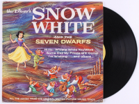 "Vintage 1963 Walt Disney ""Snow White And The Seven Dwarfs"" Vinyl Record Album at PristineAuction.com"