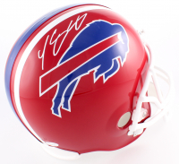 LeSean McCoy Signed Bills Full-Size Helmet (JSA COA)