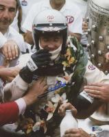 Mario Andretti Signed 8x10 Photo (Beckett COA)
