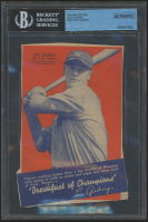 1936 Wheaties BB4 #2 Lou Gehrig (BGS Authentic)
