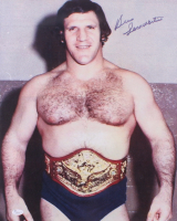 Bruno Sammartino Signed 16x20 Photo (JSA COA)
