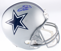 Emmitt Smith Signed Cowboys Full-Size Helmet (JSA COA & Prova Hologram)
