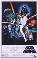 "Harrison Ford Signed ""Star Wars"" 11x17 Mini Poster Print (PSA LOA)"