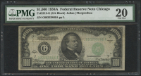 1934 $1000 One Thousand Dollars Federal Reserve Note - Fr#2212-G (PMG 20)