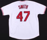 Lee Smith Signed Cardinals Jersey (GTSM COA)