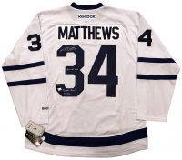 "Auston Matthews Signed Maple Leafs Limited Edition Jersey Inscribed ""2016 #1 Pick"" (Fanatics Hologram)"