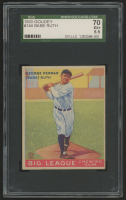1933 Goudey #144 Babe Ruth Bat RC (SGC 5.5) at PristineAuction.com