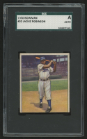 1950 Bowman #22 Jackie Robinson (SGC Authentic)