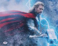 Chris Hemsworth Signed Thor 11x14 Photo (PSA COA)