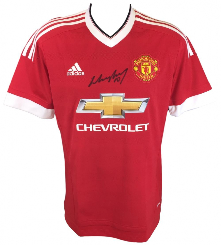 986ea9bc4a3 Wayne Rooney Signed Manchester United Jersey (SI COA)