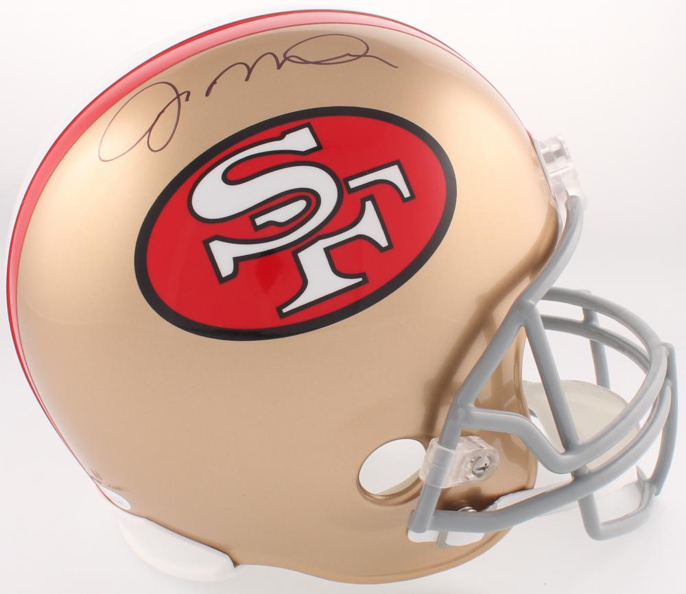 937326507 Joe Montana Signed San Francisco 49ers Full-Size Helmet (JSA COA) at  PristineAuction
