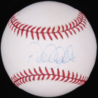 Derek Jeter Signed OML Baseball (Steiner Hologram & MLB Hologram)