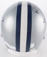 "Troy Aikman, Emmitt Smith, & Michael Irvin ""The Triplets"" Signed Cowboys Full-Size Helmet (JSA COA & Aikman Hologram) at PristineAuction.com"