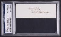 P. G. T. Beauregard & Robert Anderson Signed Civil War 22x32 Custom Framed Cut & Check Display (JSA ALOA & PSA Encapsulated) at PristineAuction.com
