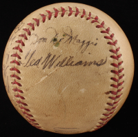 1941 Boston Red Sox OL Baseball Team-Signed by (15) with Ted Williams, Bobby Doerr, Frank Shellenback, Dom DiMaggio (PSA LOA)