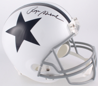 Roger Staubach Signed Dallas Cowboys Full-Size Throwback Helmet (JSA COA) at PristineAuction.com