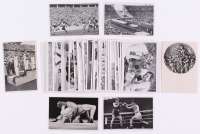 "Lot of (50) 1936 Reemstma Cig Olympia ""Berlin Olympics"" Cards with Jesse Owens RC & Nazi Propaganda Cards"