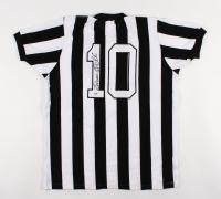 Pele Signed Santos Jersey (PSA COA)