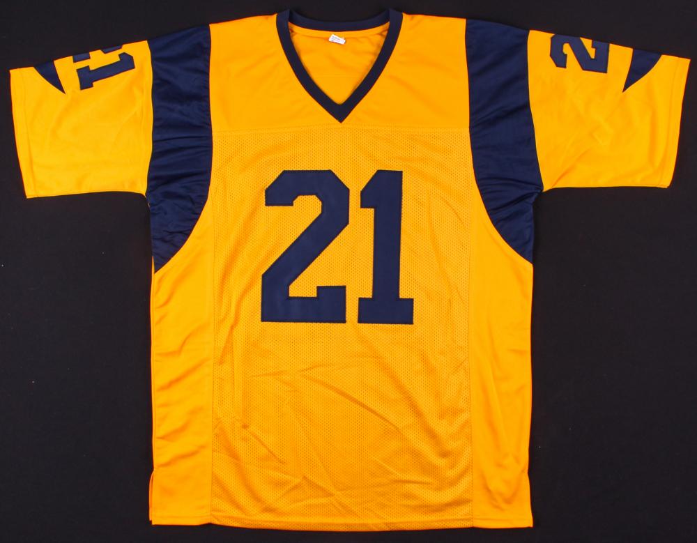 Aqib Talib Signed Rams Jersey (Prova COA)   Pristine Auction