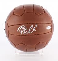 Pele Signed 1958 World Cup Final Throwback Soccer Ball (PSA Hologram)