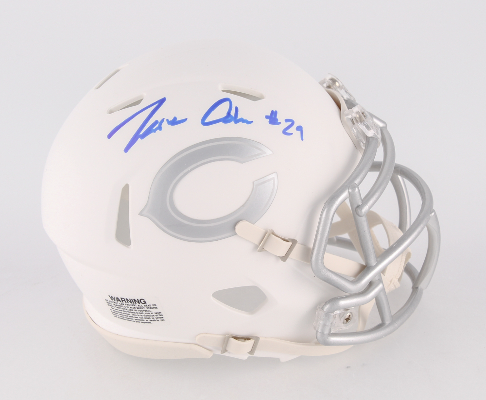 6570f660a Tarik Cohen Signed Bears White Ice Speed Mini Helmet (Beckett COA). Beckett  Witnessed