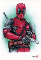 Thang Nguyen - Deadpool 8x12 Signed Limited Edition Giclee on Fine Art Paper #/25 at PristineAuction.com