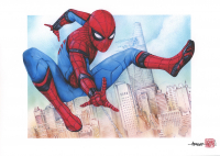 Thang Nguyen - Spider-Man 8x12 Signed Limited Edition Giclee on Fine Art Paper #/25