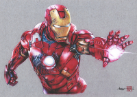 Thang Nguyen - Iron Man 8x12 Signed Limited Edition Giclee on Fine Art Paper #/25