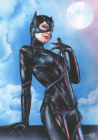 Thang Nguyen - Catwoman 8x12 Signed Limited Edition Giclee on Fine Art Paper #/25 at PristineAuction.com