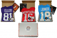Hall of Fame Enshrinement Mystery Box - Series 1 (Limited to 75) (4 Hall of Famer Signed Items Per Box)