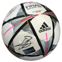 Gareth Bale Signed Adidas 2016 UEFA Champions League Soccer Ball (Icons COA)