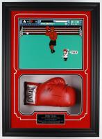 Mike Tyson Signed 6x21.25x29.25 Custom Framed Everlast Boxing Glove Display (Steiner COA)