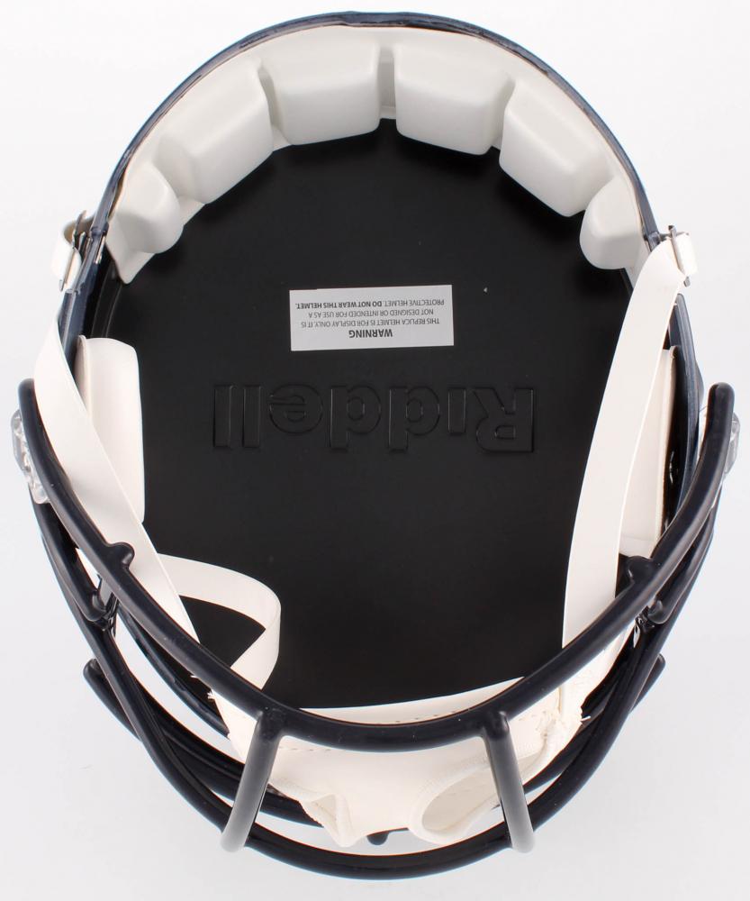 20905e4ec Tyrann Mathieu Signed Texans Full-Size Speed Helmet Inscribed