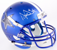 Dak Prescott Signed Cowboys Custom Satin Blue Full-Size Helmet (JSA COA & Dak Prescott Hologram) at PristineAuction.com