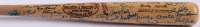 Louisville Slugger Mickey Mantle Custom Engraved Baseball Bat Signed by (50+) with Ted Williams, Mickey Mantle, Frank Robinson, Willie Mays, Hank Aaron, Eddie Mathews (JSA LOA)