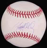 Matt Holliday Signed OML Baseball (Fanatics Hologram & MLB Hologram)