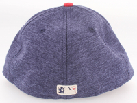 Jason Heyward Cubs 4th of July Game-Used New Era Fitted Baseball Hat (MLB Hologram) at PristineAuction.com