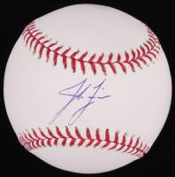 Josh Fields Signed OML Baseball (Fanatics Hologram & Schwartz Hologram)