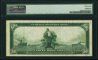 1914 $50 Fifty Dollars Federal Reserve Note - Chicago (PMG 25) at PristineAuction.com